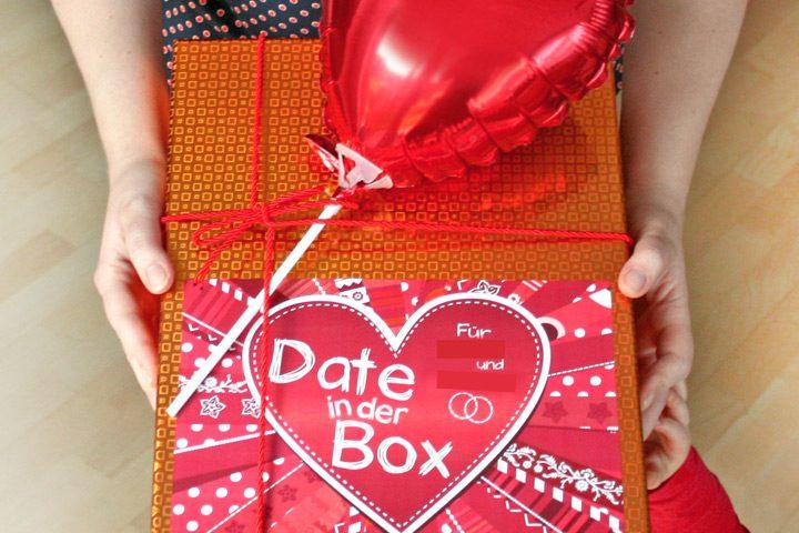 Hochzeitsgeschenk Date in der Box