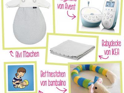Nützliches für Babys Schlaf