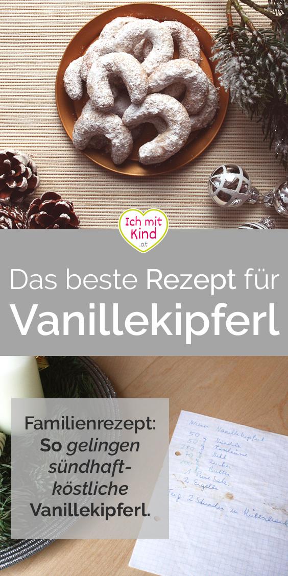Rezept Vanillekipfer