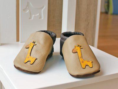 Minilini Lederschuhe für Kleinkinder