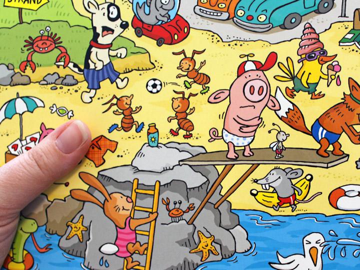 Wimmelbücher für Kleinkinder