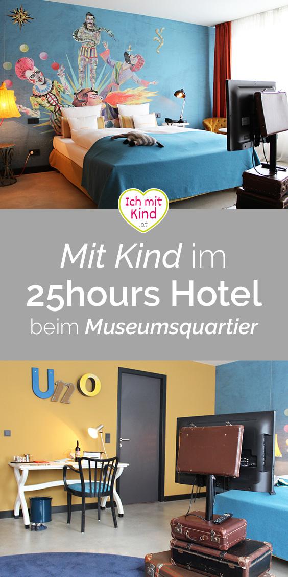 Mit Kind im 25hours Hotel beim Museumsquartier