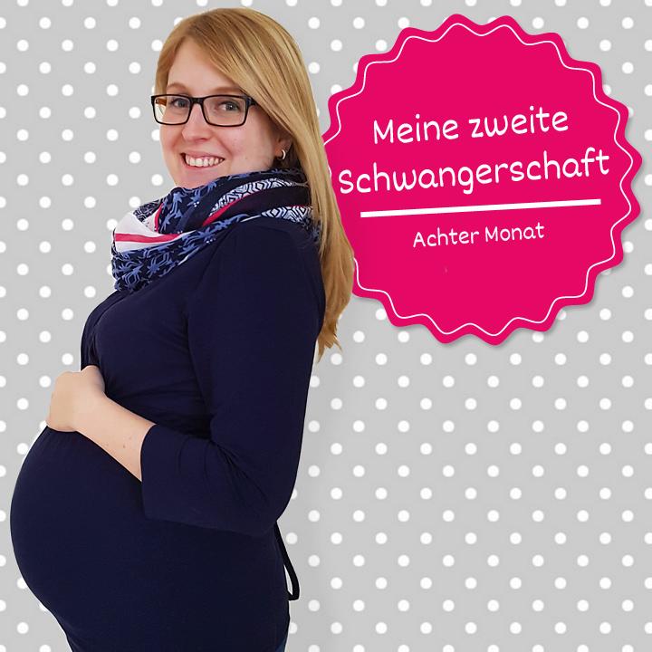 Meine zweite Schwangerschaft - achter Monat