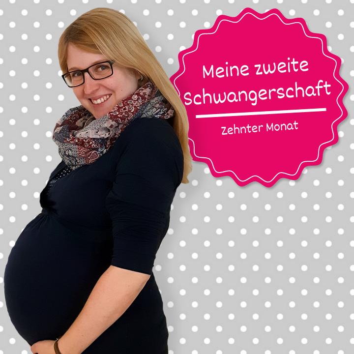 Meine zweite Schwangerschaft - zehnter Monat