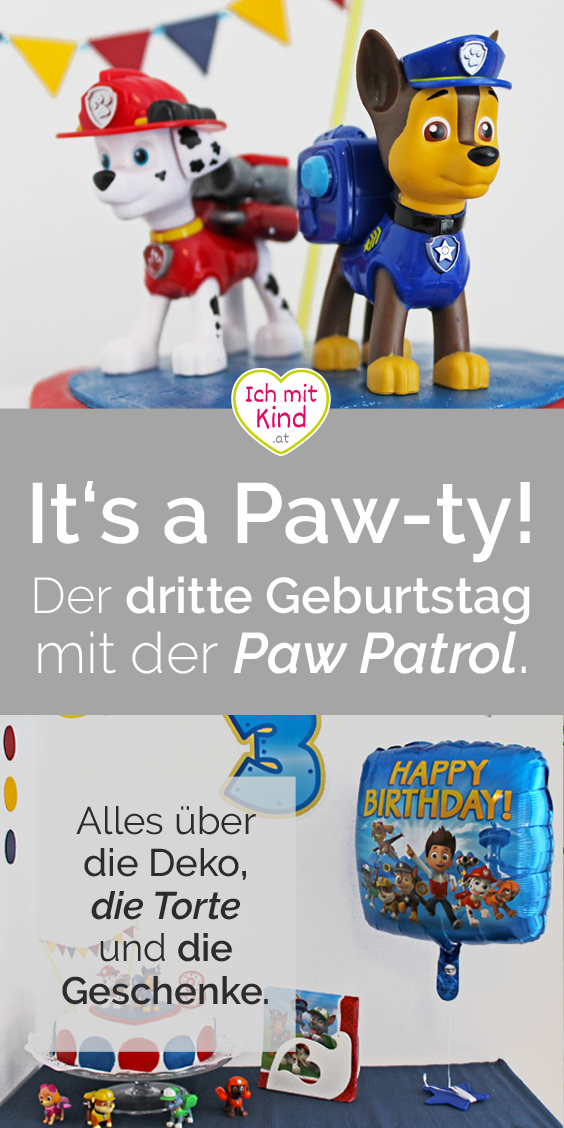 Paw Patrol Birthday Pary