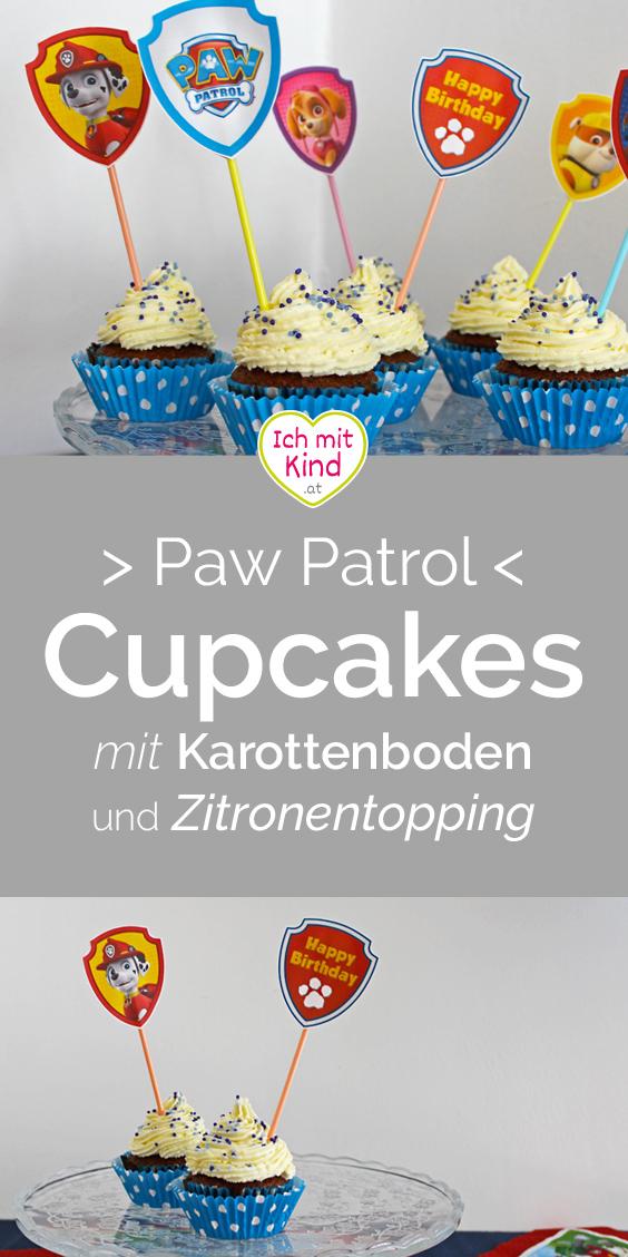 Paw Patrol Cupcakes Rezept