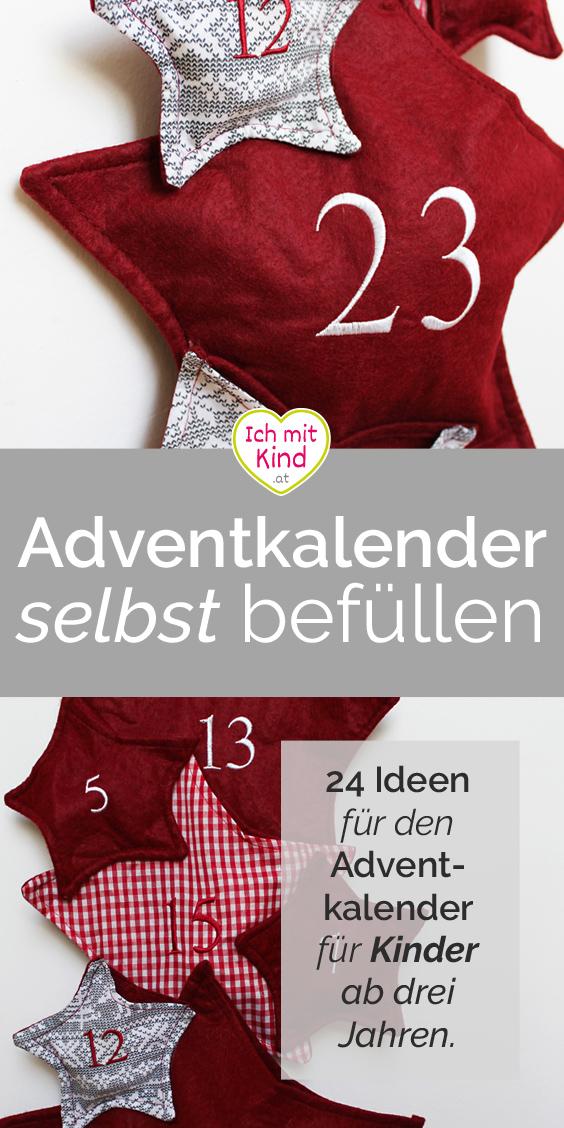 Ideen für den Adventkalender