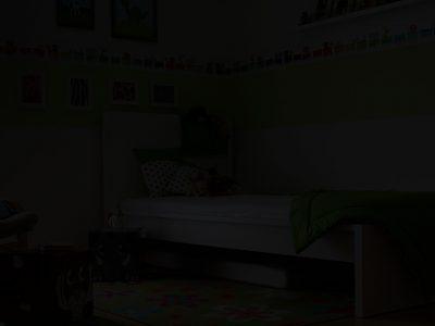 Der böse Mann im Kinderzimmer
