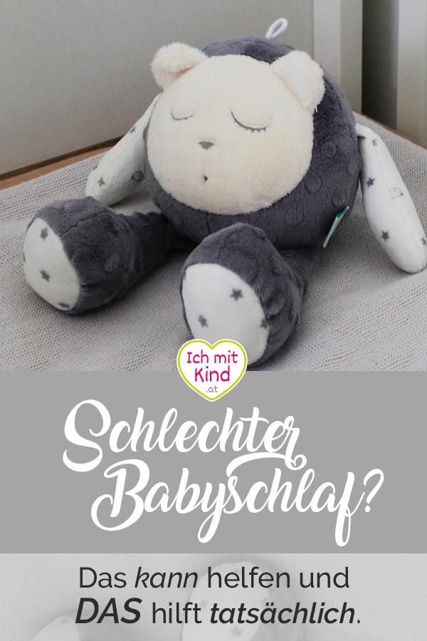 Schlechter #Babyschlaf - Was helfen kann und was tatsächlich hilft
