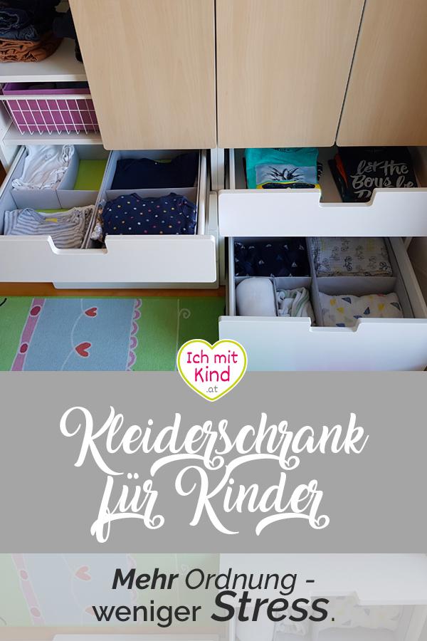 Unser Kinderkleiderschrank - Mehr Ordnung - weniger Stress