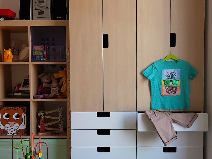 Unser Kinderkleiderschrank
