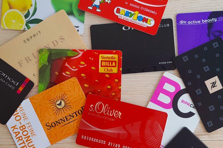 Minimalismus - Schluss mit dem Kundenkartewahnsinn