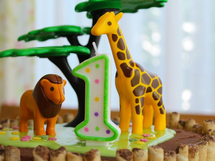 Wild and One - Wilde Dschungel-Torte zum ersten Geburtstag