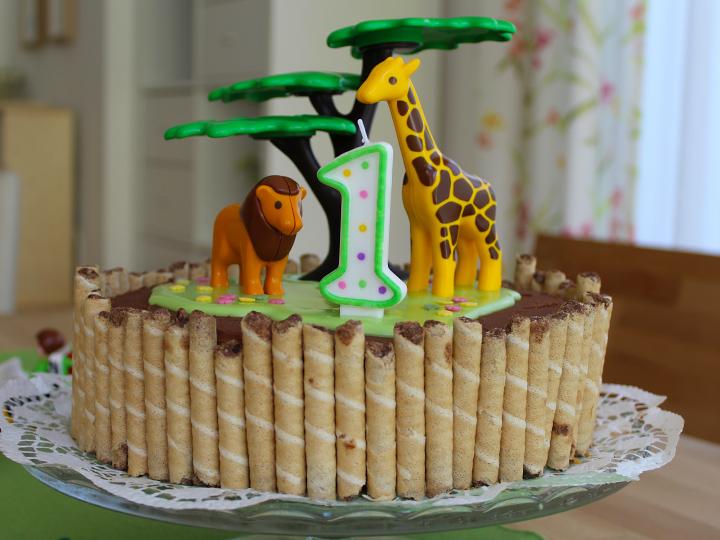 Wild And One Die Wilde Dschungel Torte Zum Ersten Geburtstag Ich Mit Kind