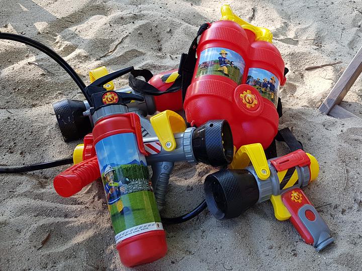 Feuerwehrmann Sam Outdoor - Helden und Idole eines Dreijährigen