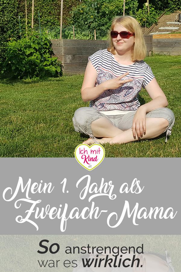Mein erstes Jahr als Zweifach-Mama - So anstrengend war es wirklich.