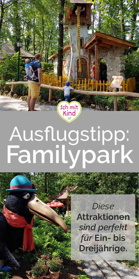 Unterwegs mit Kind im #familypark Neusiedlersee - Attraktionen für Kinder von 1 bis 3