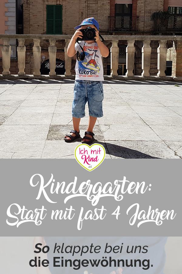 Kindergarten Start mit fast 4 Jahren