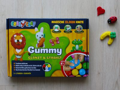 CrazyClay Gummy Knete - Produkttest