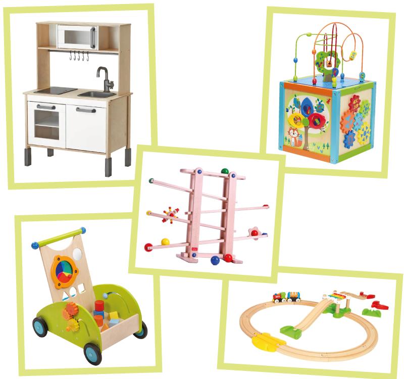 Holzspielzeug für Jung und Alt