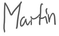 Unterschrift Martin