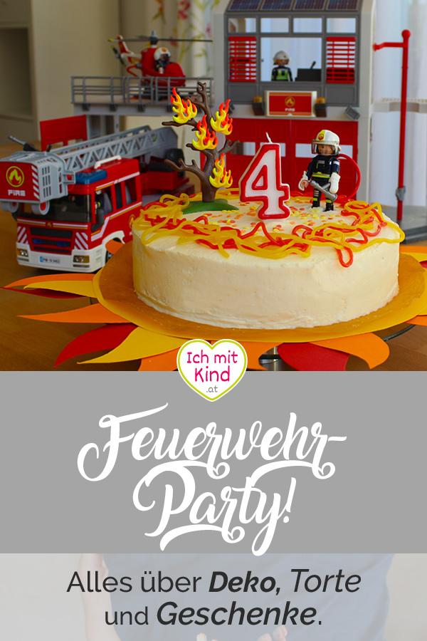 Feuerwehr Geburtstagsparty