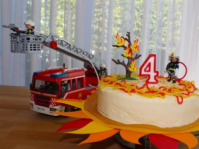 Feuerwehr-Party - Feuerwehr Geburtstagstorte