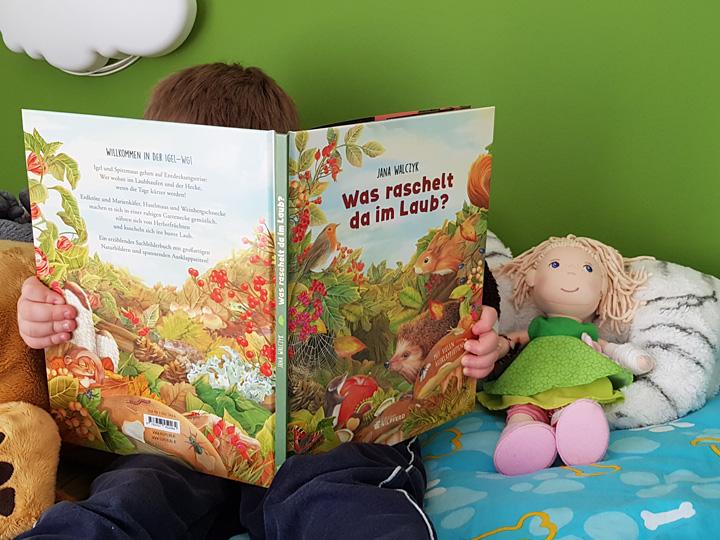 Buchtipp Kindergartenkinder: Was raschelt da im Laub? Jana Walczyk